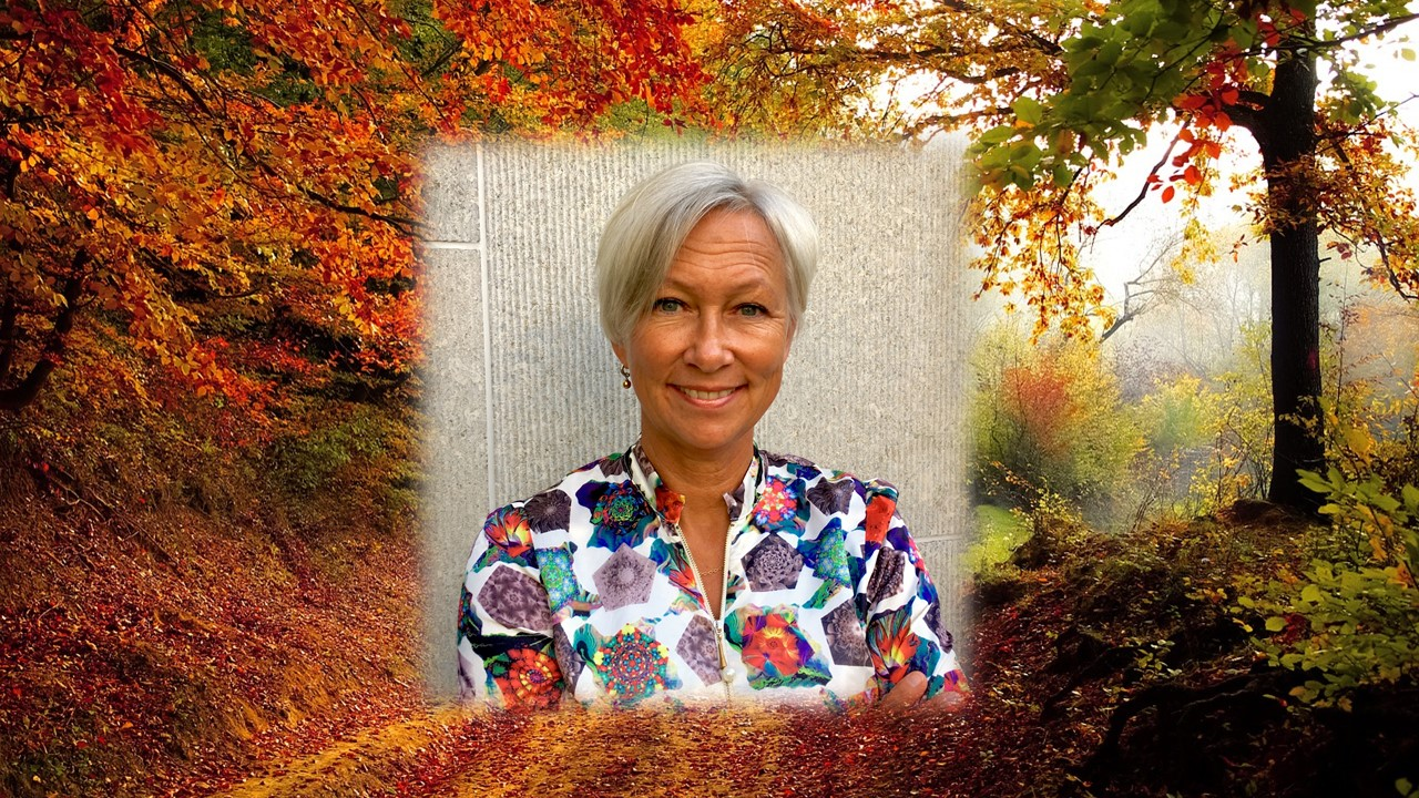 Bild på Marie Andén grundare av Mar-katta